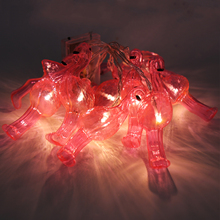 1m Party Flamingo String Lights pineapple led string lights wedding birthday party festival backdrop decoration fairy light