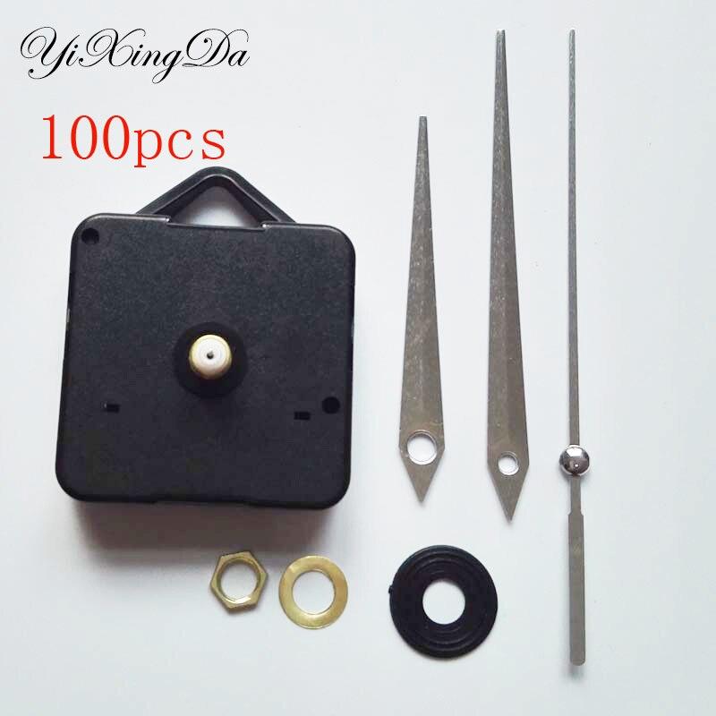 Wholesale 100 Replacement Repair Clock Part Accessories Home Decor Stitch Quartz Movement Diy