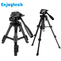 Professional Tripod Stand Photography Photo Video Aluminum Camera Tripod For DSLR Cameras for Xiaomi Smartphones For Recording