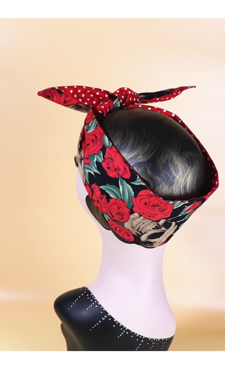 Grey Black Polka Headband Bandana Scarf  Hairband Tie Band Spotty Fabric