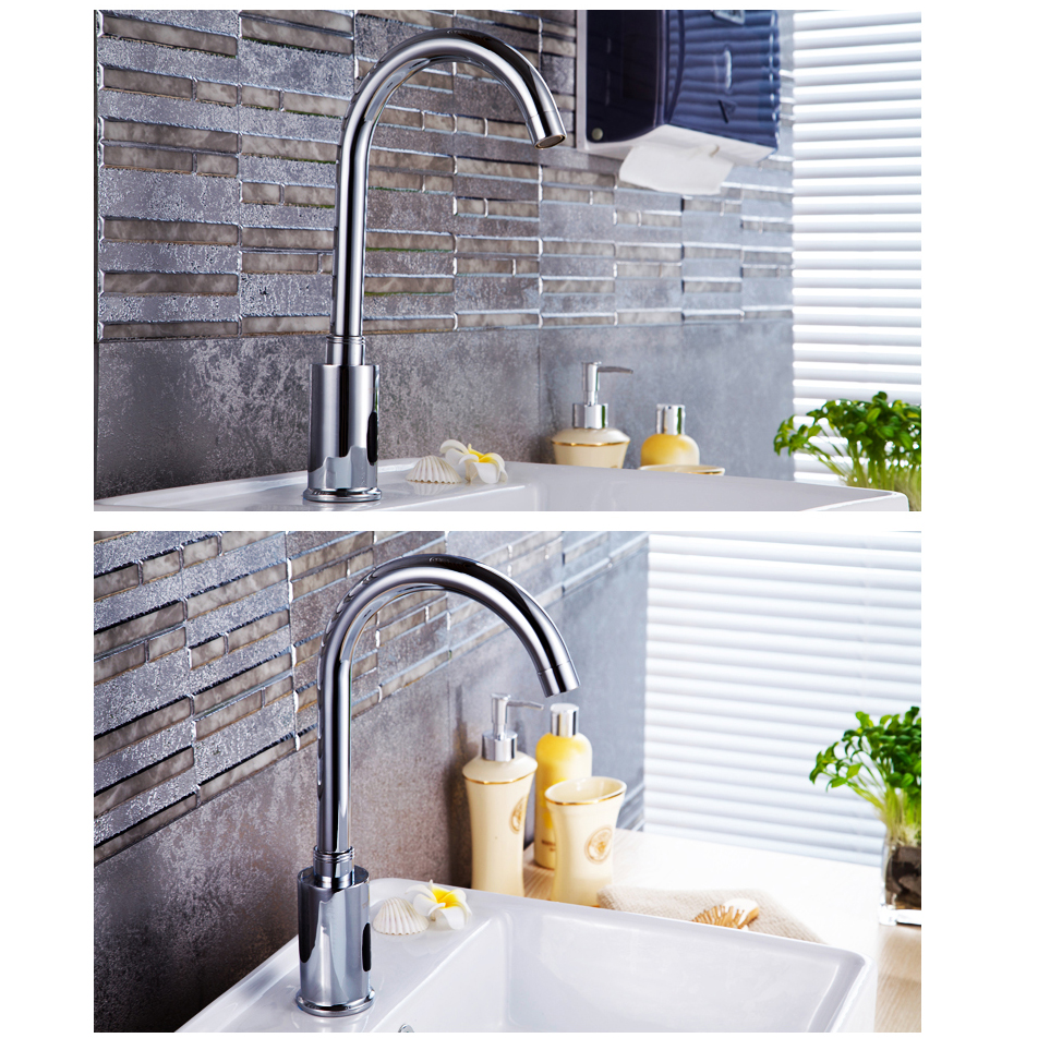 popular touch faucet kitchen buy cheap touch faucet kitchen lots new kitchen bathroom automatic hands touch free sensor basin chrome brass sink mixer tap faucets mixer