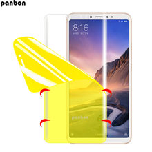 Hydrogel Film For xiaomi mi max 2 3 Pro Full coverage Screen Protector For xiaomi mimax mimax2 mimax3 Pro Soft TPU nano film(China)
