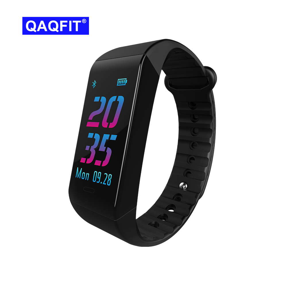 QAQFIT W6S Bluetooth Smart Bracelet Activity Tracker Dynamic Heart Rate Monitoring Smart Band with 0.96 inch TFT Color Screen goral y5 smart bracelet 0 96 inch tft color screen