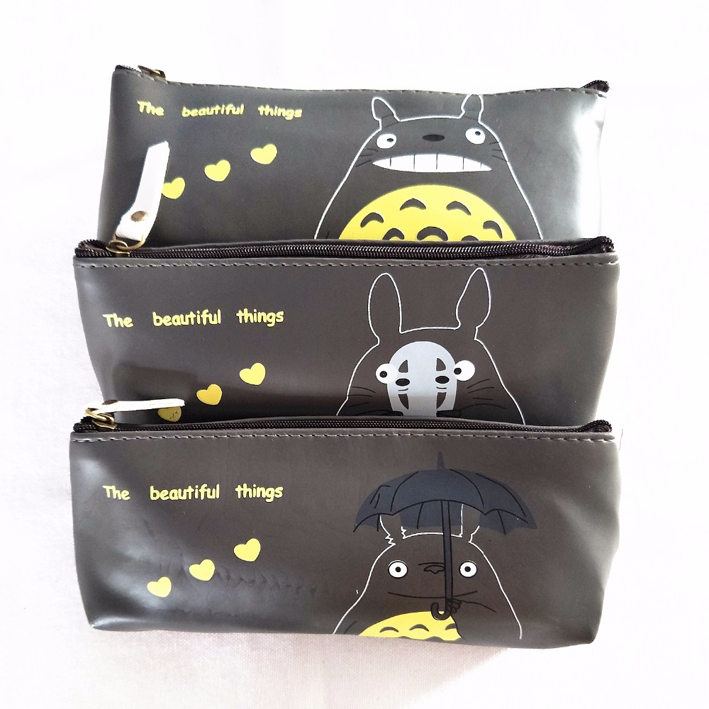 M101  Creative Canvas Sweet  Cartoon Cute Cat Coin Purse  Pen Bag Gifts For Women And Girls Wholesale fashion coin purse wallets mini bag league creative personality canvas bags cartoon storage bags for cardholder in ear headphone