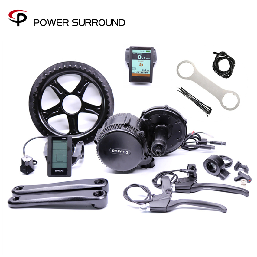 Free shipping 48v750w 8fun bafang BBS02B Ebike Electric bicycle Motor 8fun mid drive electric bike conversion kit 36v500w electric bike center motor system bbs cheapest and best on aliexpress free shipping