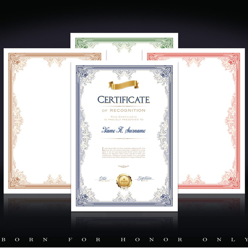 Купить с кэшбэком CUCKOO 1pcs Certificate Creative Appointment Letter of Authorization Letter Training Ending Equity Investment A4 Core Blank