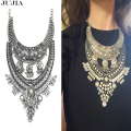 2017 NEW  long big Hot sale metal chain fashion necklace collar Necklaces & Pendants  pendant  statement necklace