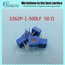 10 Шт./лот 3362P-1-500LF 3362 P 500 50 ом Подстроечный Резистор Триммер Потенциометр Переменный резистор новый оригинальный