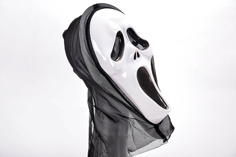 HTB1S.ExaBCw3KVjSZR0q6zcUpXav - Horror Grim Reaper Accessories Pennywise Horror Clown Halloween Cosplay Screaming Costume