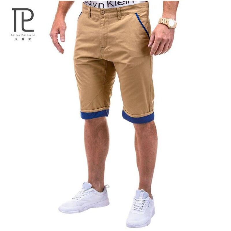 Men Clothing Summer Style Shorts Men Solid Cotton Short masculino Outside Trousers cargo shorts Straight Boardshorts Plus 3XL c6