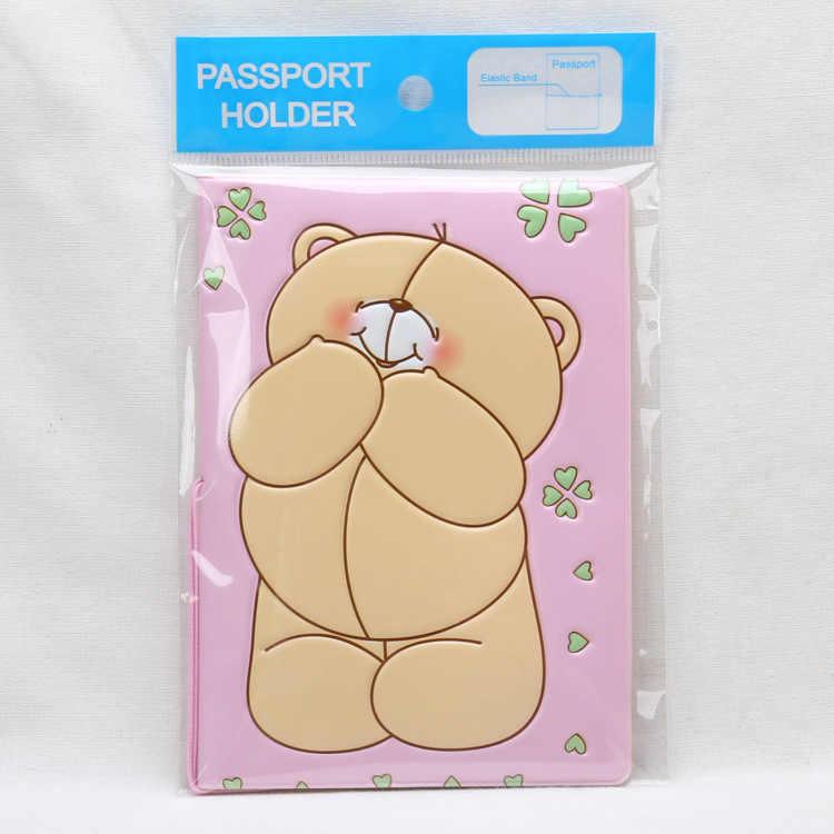 Foreverfriends Берман мультфильм паспорт набор мультфильм аниме Обложка для паспорта, 3 стиля для выбора