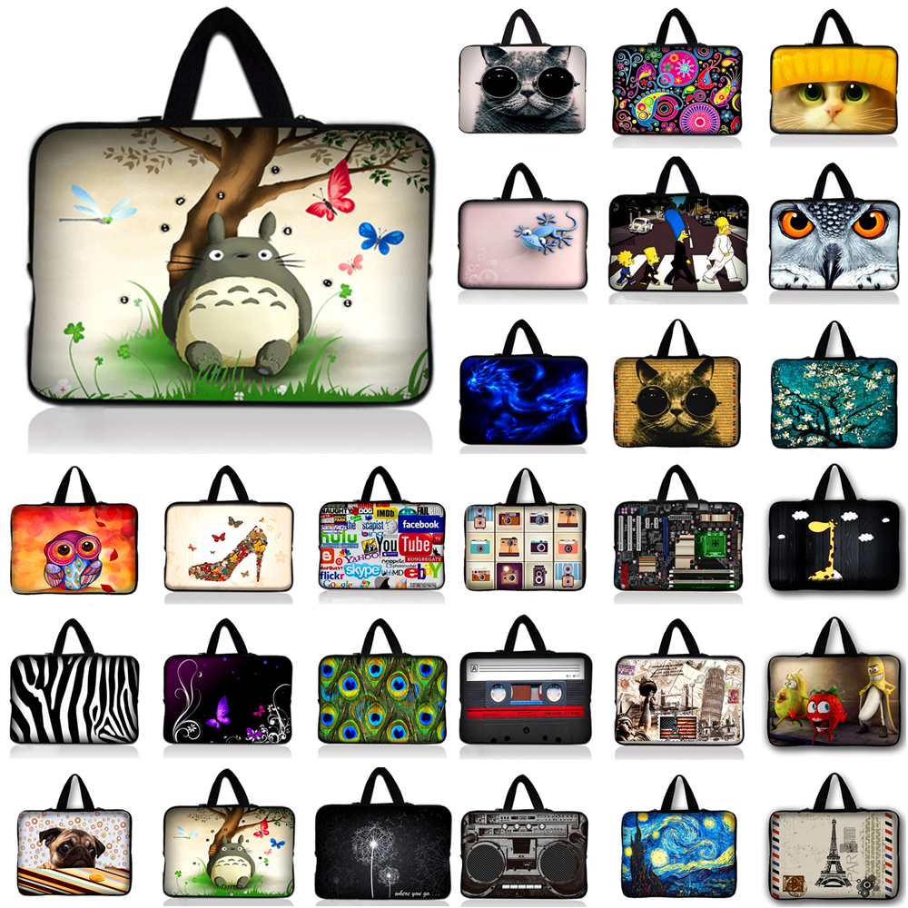 10.1 11.6 13 13.3 14 15 15.4 15.6 17 17.3 Inch Laptop sleeve Notebook Bag Case f