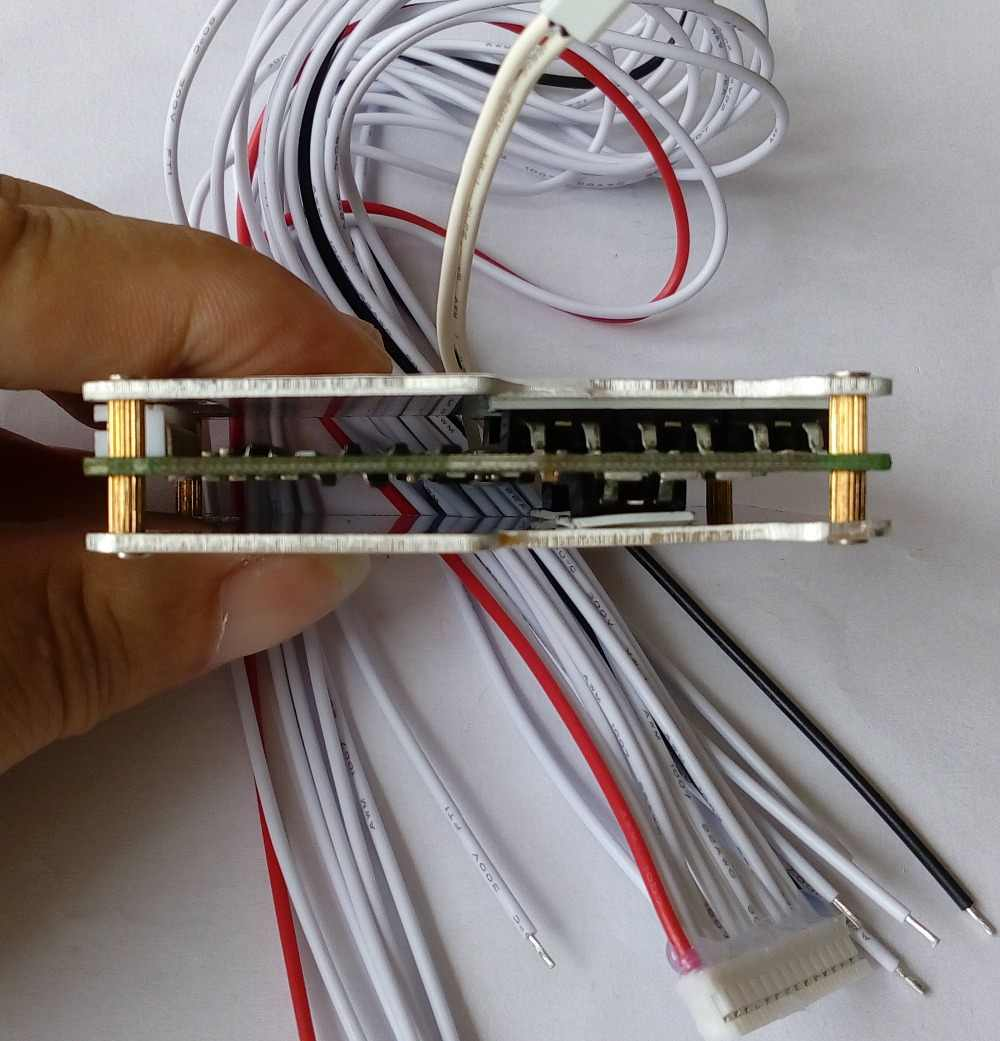 10 s 30A 36 v lipo lithium Polymer BMS/PCM/PCB ban bảo vệ pin cho 10 Gói 18650 li-ion e-bike Pin Di Động w/cân bằng