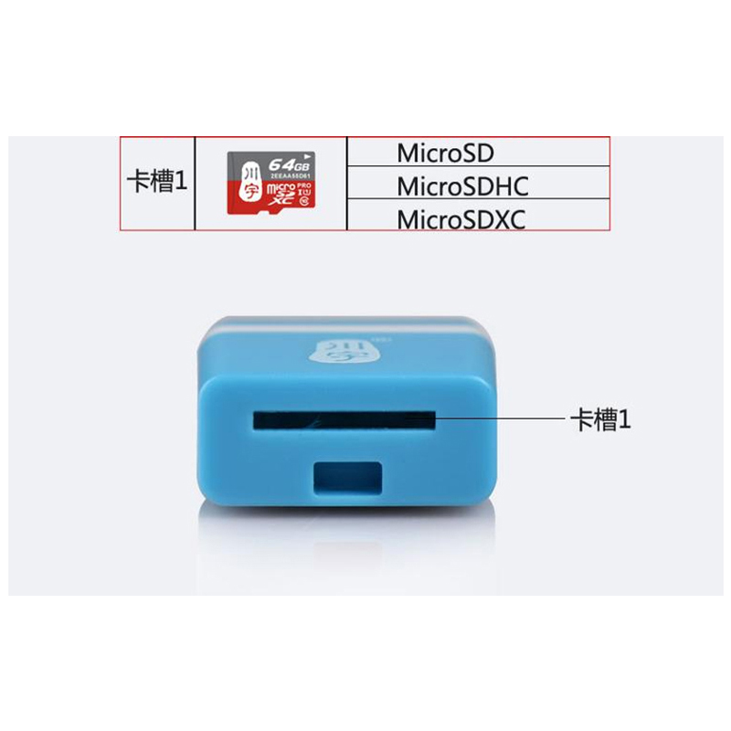 Kawau USB 2.0 Microsd Card Reader Supports Up to 128GB with SD Card Reader C289 High Quality Speed for Computer