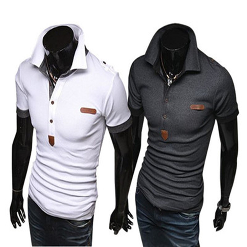 ZOGAA   Polo   Shirt Men Slim Fit Short Sleeve Fashion Short-sleeved Pure Color Casual Smart Tops Men Clothing   Polos   Shirts 2019