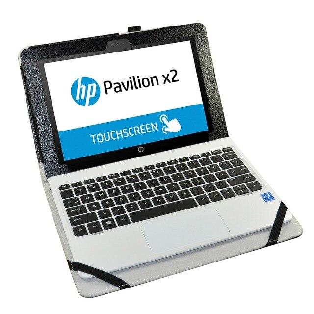 """Новый чехол для HP Pavilion x2, чехол-книжка с магнитной откидной крышкой из искусственной кожи, противоударный чехол 10,1 """"для HP Pavilion x2 N113"""