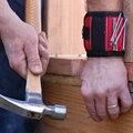 Annke magnética pulseira cinto de ferramentas de bolso bag bolsa titular parafusos segurando ferramentas vermelho e azul cctv acessórios