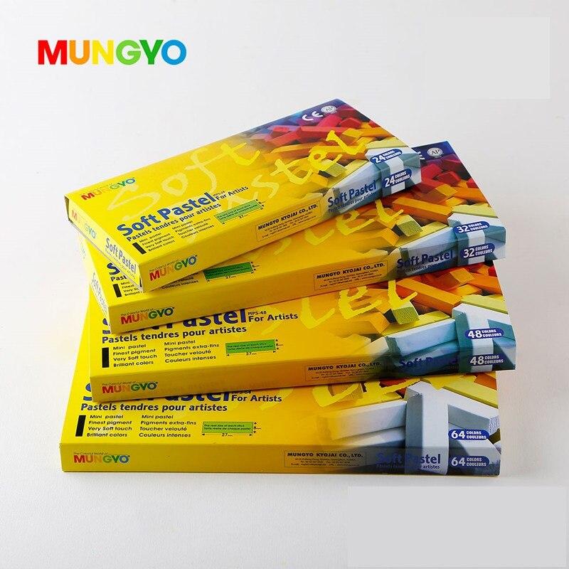 MUNGYO MPS 24/32/48/64 farben weiche pastelle serie DIY Haar gefärbt farbe machen up KUNST zeichnung malen