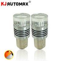 High Power S25 1157 BAY15D LED Bulbs Bright Light Mirror Design 48 SMD For Turn Signal