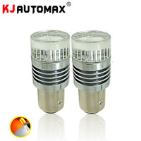 High Power S25 1157 BAY15D LED Bulbs Bright Light Mirror Design 48 SMD For Turn Signal