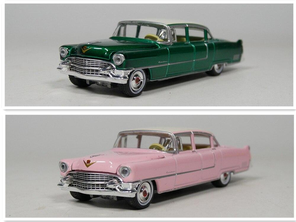 Auto Inn-Greenlight 1: 64 1955 Cadillac Fleewood Série modelo de carro Diecast