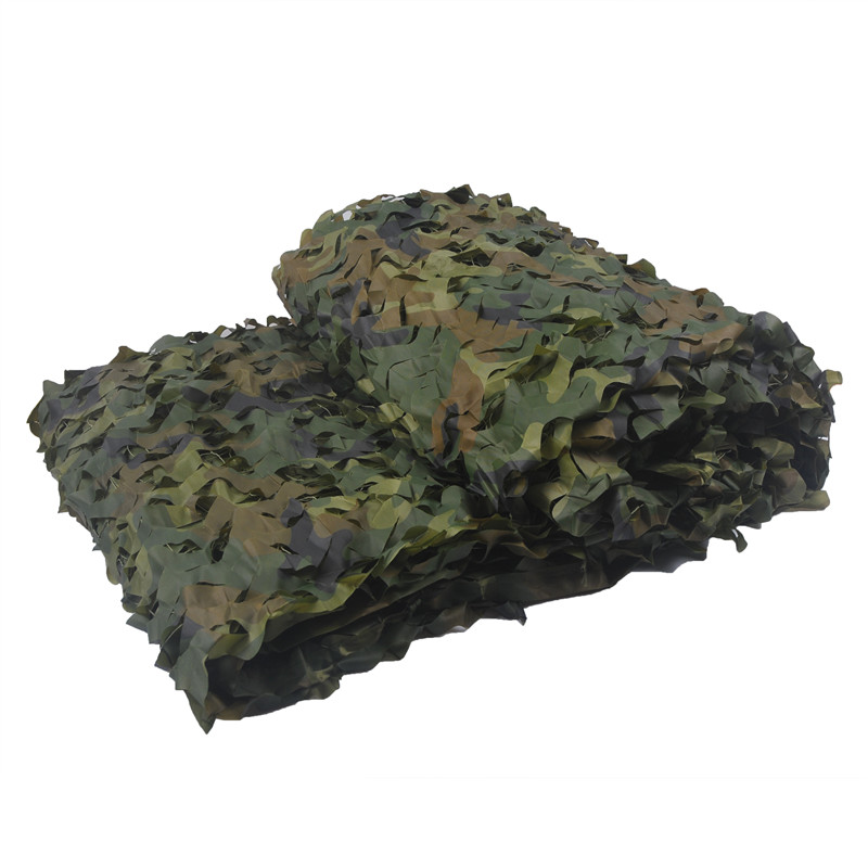 1 5M 5M Military Camouflage Net Camping Tents 150D Polyester Oxford Camouflage Net Customized Size Camping