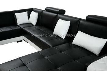 Chaise Sofas Für Wohnzimmer Sitzsack Stuhl 2019 Heißer Verkauf Wohnzimmer Sets Moderne Möbel Schnitts U Form Leder Sofa