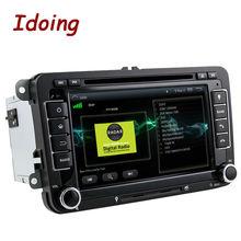 Idoing Android5.1For 2Din Volkswagen Touran/Passat/B6 Руль Автомобиля DVD Мультимедиа Видео Плеер Quad Core GPS Навигации 3 Г