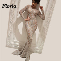 African Couture New Sparkly Evening Dresses 2018 Dubai Turkish Arabic Pageant Dress Sexy Long Formal Prom Gowns Robe de soiree