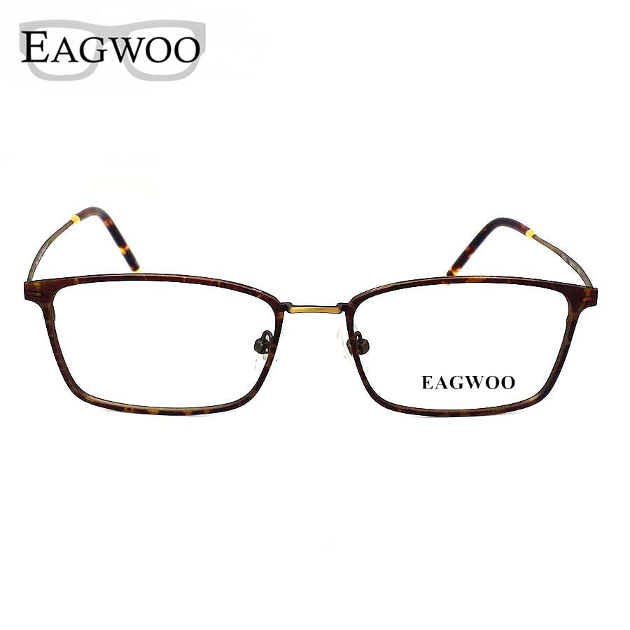 Titanium Eyeglasses Frame Vintage Nerd Big Size Optical ...