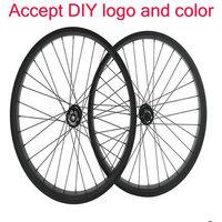 AWST Disc Carbon Wheels 38mm 50mm 60mm 88mm Tubular Or Clincher 25mm Width U Shape Carbon Disc Brake Wheels OEM logo disc wheels