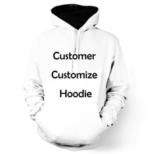 Brand Design Men/Women Long Sleeve Hooded Sweatshirts Customer Customize Hoodies Pullovers DropShipping Custom DIY 01-18