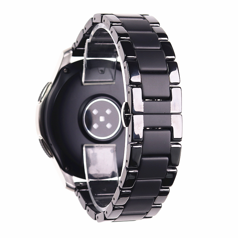 Image 4 - Ceramic watchbands For samsung gear s2 S3 band  20 22mm watch band  gear s3  watch strap huawei watch gt  galaxy watch 46mm42mm-in Watchbands from Watches