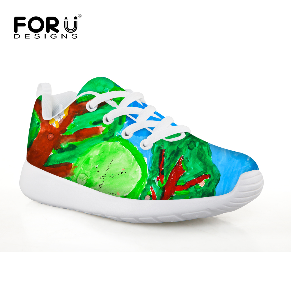 FORUDESIGNS Anti-Slippery Childrens Badminton Shoes Breathable Outdoor Sport Sneakers For Kids Tennis Shoes Tenis Feminino 2018 ...