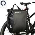 Roswheel 20L Volle Wasserdichte Mountainbike Fahrrad Radfahren Pannier Tasche Zurück Rear Seat Trunk Bag Rack Pack Dry Serie 141364