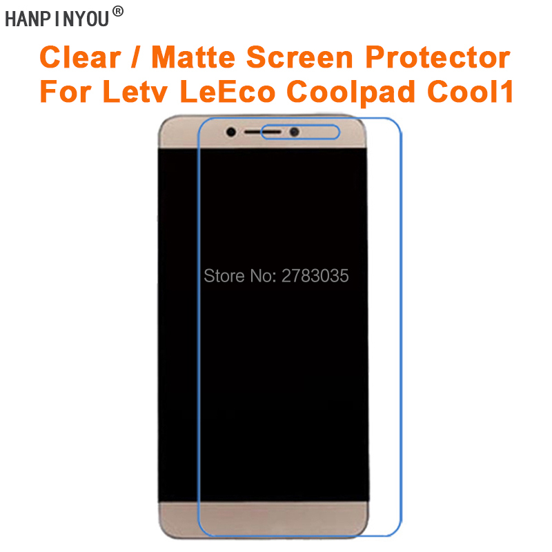 Clear Glossy / Anti-Glare Matte Screen Protector For Letv <font><b>LeEco</b></font> Coolpad Cool1 <font><b>Cool</b></font> <font><b>1</b></font> Protective Film Guard (Not Tempered <font><b>Glass</b></font>) image