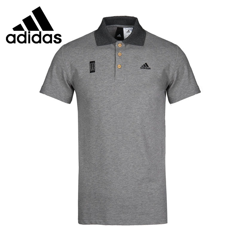 Original New Arrival 2018 Adidas WJ COMM Men's exercise POLO short sleeve Sportswear original new arrival 2017 adidas tp polo aop men s polo shirt short sleeve sportswear