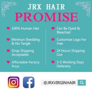 Image 3 - JRX שיער ברזילאי אדום חבילות שיער טבעי ישר ללא רמי שיער שוזר מלא אדום צבע שיער הארכת 1/3/4 חבילות להתמודד