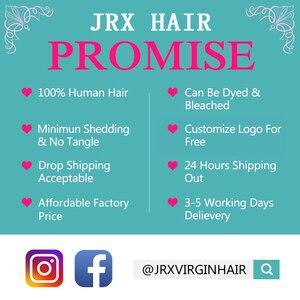 Image 3 - Tissage naturel brésilien Non Remy rouge JRX Hair, mèches de cheveux lisses, pleine couleur de cheveux, Extension de cheveux, offre en lots de 1/3/4
