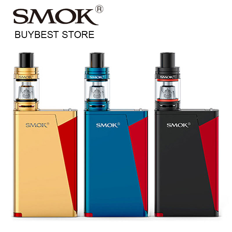 Оригинальный 220-вольтовый SMOK H-PRIV PRO Kit с TFV8 Big Baby Tank 5 мл Atomzier и HPRIV Pro 220 Box MOD Vaping Kit VS Smok Alien / G-Priv