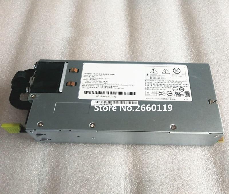 Server power supply for RH2285H V2 PS-2461-1H 460W fully tested high quality server power supply for ps 2112 2l 1100w fully tested