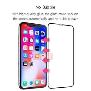 Image 4 - Capa completa de vidro temperado para iphone x xs xr 11pro max protetor de tela para iphone 6s 7 8 plus x 5 5S se 2020 vidro protetor