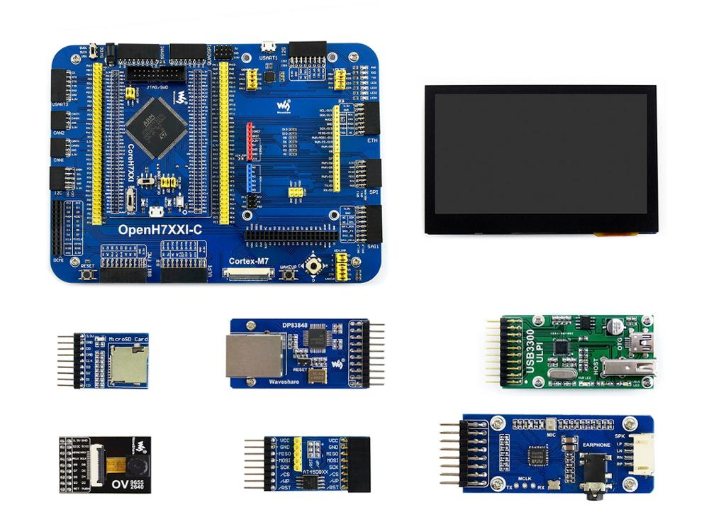 Waveshare OpenH743I-C Package A, STM32H7 Development Board