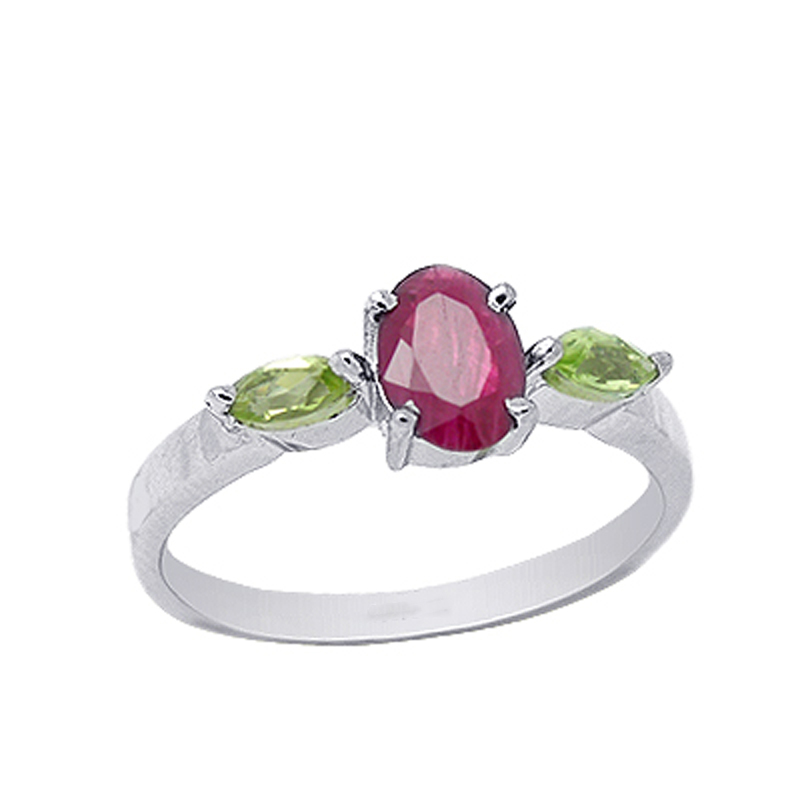 2017 Qi Xuan_Fashion Jewelry_Red Stone Elegant Flower Woman Rings_S925 Solid Sliver Fashion Rings_Manufacturer Directly Sales 2017 Qi Xuan_Fashion Jewelry_Red Stone Elegant Flower Woman Rings_S925 Solid Sliver Fashion Rings_Manufacturer Directly Sales