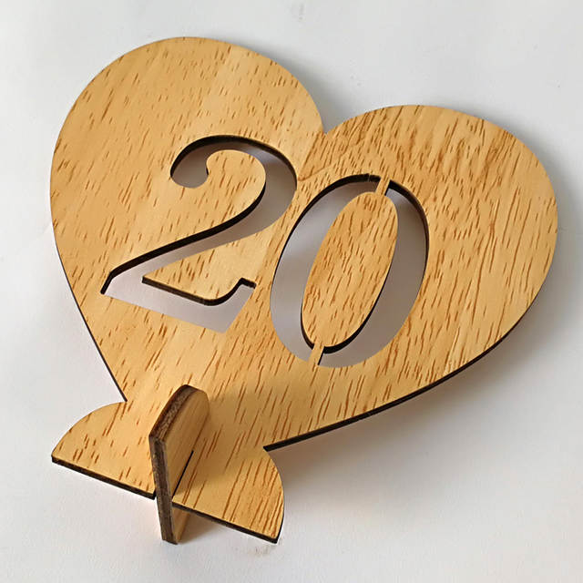 Astounding 1 20 Wooden Table Numbers Holders Digital Love Slots Number Plate Decorations Wedding Bridal Shower Birthday Party Table Decor Interior Design Ideas Clesiryabchikinfo