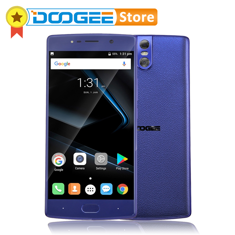 DOOGEE BL7000 4GB RAM 64GB ROM Android 7.0 MTK6750T Octa-Core 1.5GHz 5.5'' FHD Smartphone 3 Cameras 13.0MP+13.0MP 7060mAh 12V 2A
