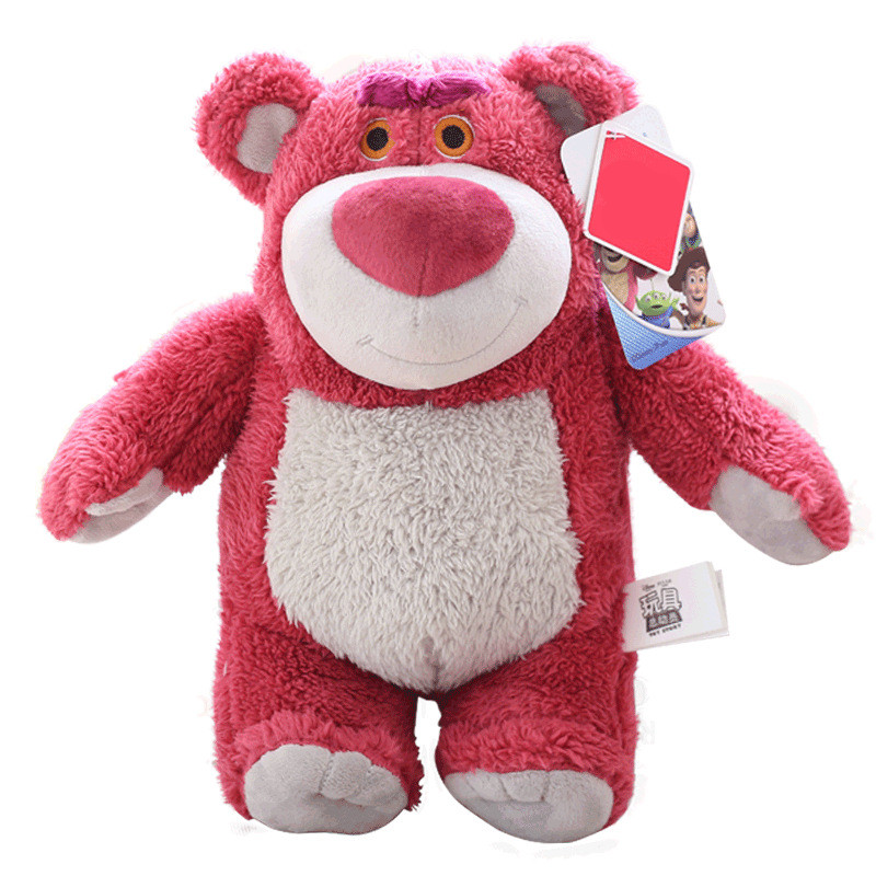 New Disney Toy Story Cartoon Plush Strawberry Bear Lotso Woody Buzz Light Year Plush Toy Doll Story Model Children 39 s Gift in Movies amp TV from Toys amp Hobbies