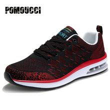 New Arrival Men Sport Sneakers Air Running Shoes for Men Lace Up Men's Trainers Spring/Summer Light Athletic Sneakers Brand