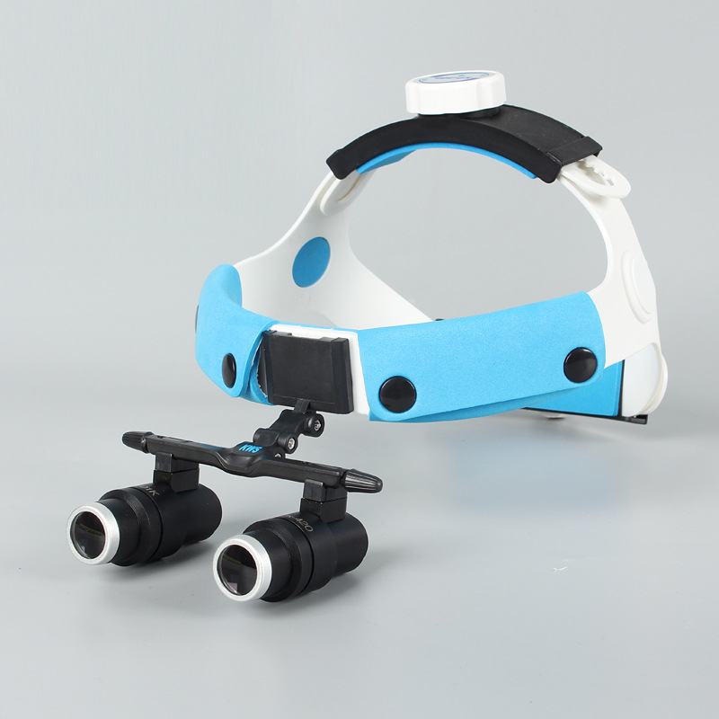 2018 6X Headband Binocular Medical Surgical Dental Loupes for Dentistry,Surgery With Wide Field (working distance: R (420mm) jay beagle r surgical essentials of immediate implant dentistry