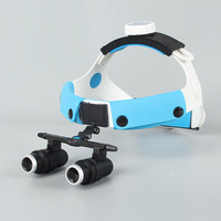 2018 6X Headband Binocular Medical Surgical Dental Loupes for Dentistry,Surgery With Wide Field (working distance: R (420mm)